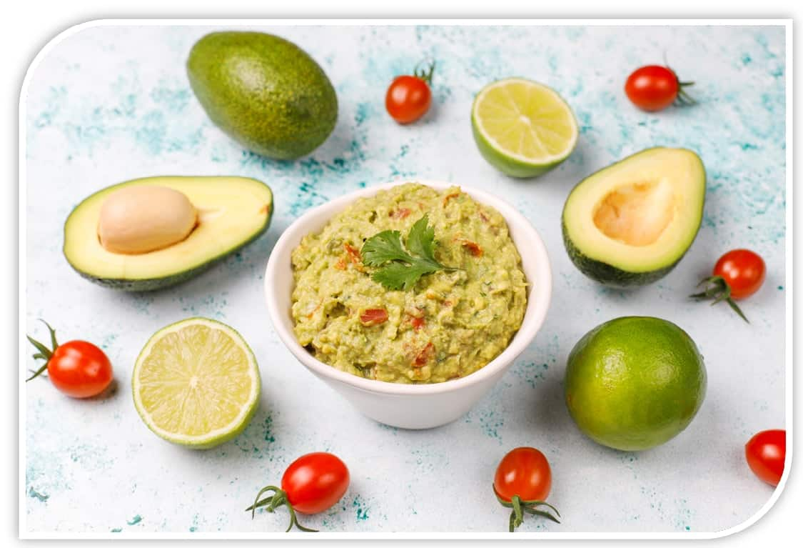 Banana chips with Guacamole dip recipe