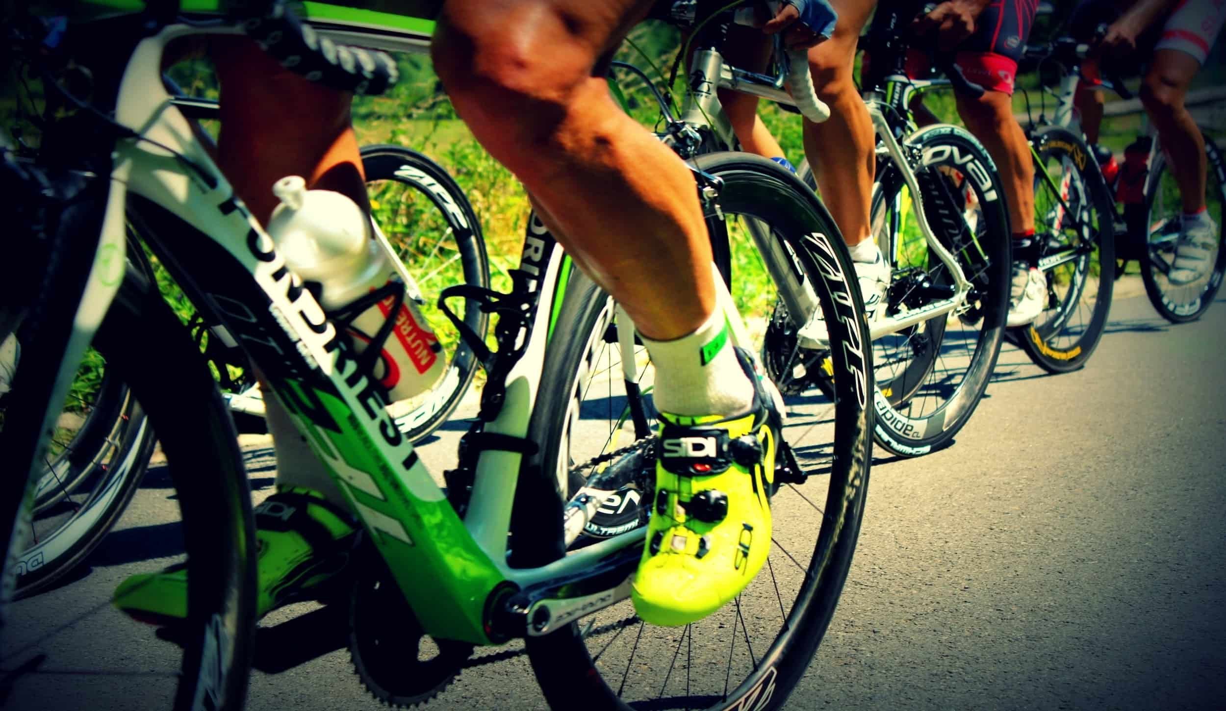 what muscles are targeted in cycling